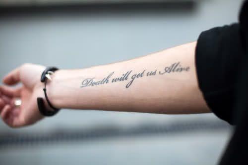 Татуировки на английском